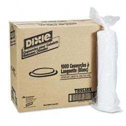 Dixie Sage Collection White Hot Cup Lids (Case of 1000)