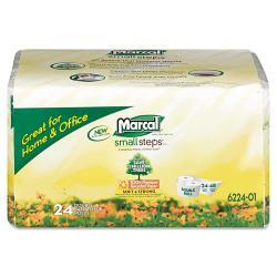 Marcal Small Steps Recycled Bathroom Tissue (Case of 24)