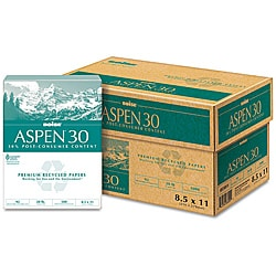 Boise Aspen Recycled Copy and Laser Paper (Case of 5,000 Sheets)