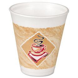 Dart Cafe G 8 oz Foam Hot/Cold Cups (Case of 1000) 5948748