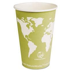 Eco-Products Compostable Eco 16 oz Paper Hot Cup (Case of 1000) 5948785
