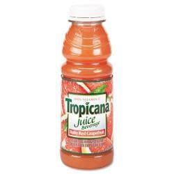 Tropicana 100-percent Ruby Red Grapefruit Juice 10 Ounce Bottle (Case of 24)