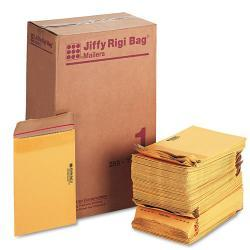 Jiffy Rigi 7 1/4-inch x 12-inch Bag Mailer (Case of 250)