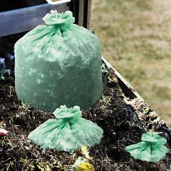 Stout EcoSafe-6400 64 Gallon Compostable Bags (Case of 30)