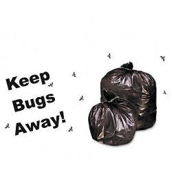Stout Insect-Repellent 45 Gallon Trash Bags (Case of 65)