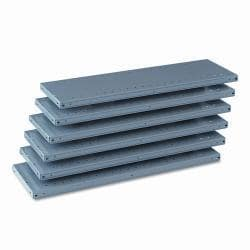 Tennsco 87-inch High Industrial Steel Shelving (Case of 6)