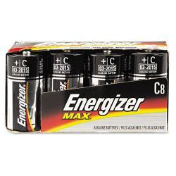 Energizer Alkaline C Batteries (Pack of 8)