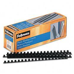 Fellowes Plastic Comb Bindings, 55-Sheet Capacity (Case of 100)