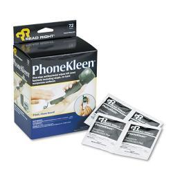 Read Right PhoneKleen Wet Wipes (Case of 72)