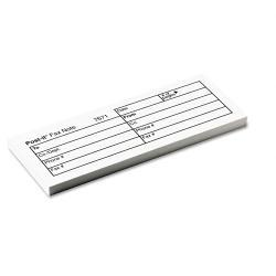 Post-it Fax Transmittal Notes, 50-Sheet Pads, White (Pack of 12)