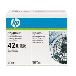 HP Q5942XD (HP 42X) (Pack of 2)