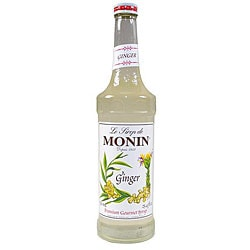 Monin Inc 750-ml Ginger Syrup (Pack of 12)