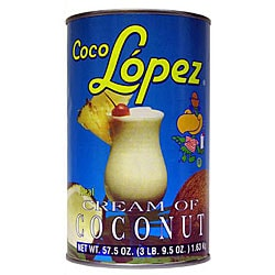 Coco Lopez 57-oz Cream of Coconut Cans (Pack of 12)