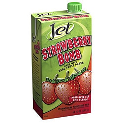 Jet Tea 64-oz Strawberry Bomb (Pack of 6)