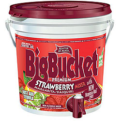 American Beverage Master Of Mix 96-oz Strawberry Margarita Bucket (Pack of 6)