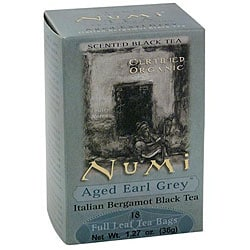 Numi Aged Earl Grey Tea (Case of 108)