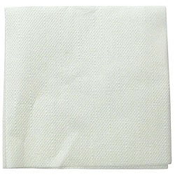 Paterson Pacific Parch White Crepe Cocktail Napkin (Case of 4000)