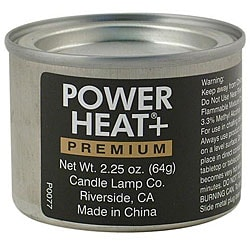 Candle Lamp Company 2.6-oz 45 Minute Powerheat Chafer Fuel (Case of 144)