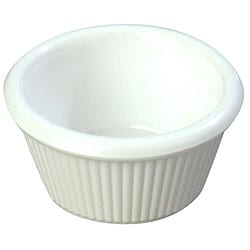 Carlisle Foodservice 3-oz Bone Fluted Ramekin (Case of 48)