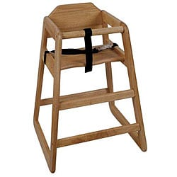Challenger Assembled Natural High Chair