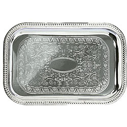 Admiral Craft Equipment Oblong Chrome Tray