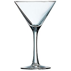 Cardinal International 7.5-oz Excalibur Fully Tempered Martini Glasses (Pack of 12)