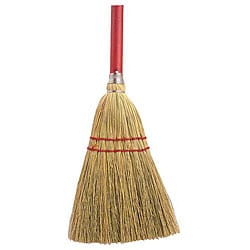 Zephyr Manufacturing Red Handle 2 Sew Broom