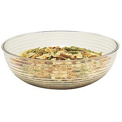 Cambro 23-in Clear Round Salad Bowl