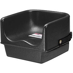 Cambro Single Height Black Booster Seat