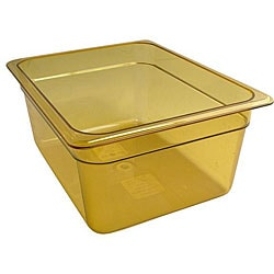 Cambro Half Size 6-in Deep Amber High Heat Pan