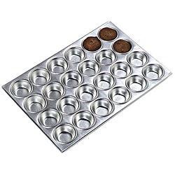 Carlisle Foodservice 24 Cup Aluminum Muffin Pan 5961570