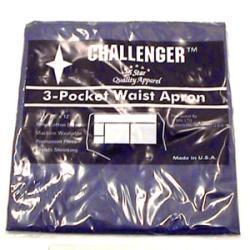 Challenger Navy Three Pocket Waist Apron