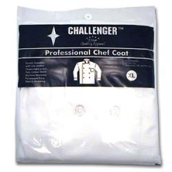 Challenger Xlarge White Chef Coat
