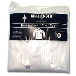 Challenger 40-42 Medium White Chef Coat