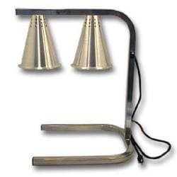 Carlisle Foodservice Heat Lamp Silver 2 Bulb