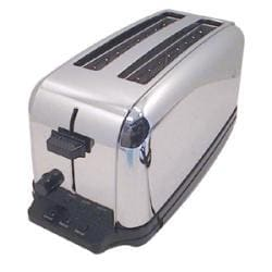 Waring 4 Slice Chrome Toaster