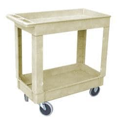Rubbermaid Commercial Beige Utility Cart