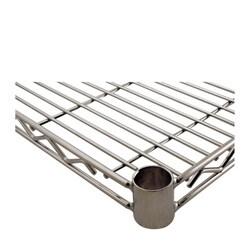 Challenger 24 x 60 Inch Chrome Wire Shelf
