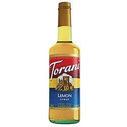 Torani Lemon Syrup 750ML (Pack of 12)