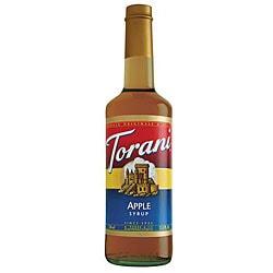 Torani 750ML Apple Syrup (Pack of 12)
