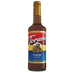 Torani Coffee Syrup 750ML (Pack of 12)