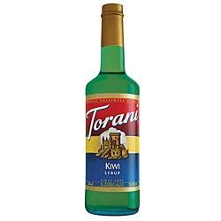 Torani Kiwi Syrup 750ML (Pack of 12)