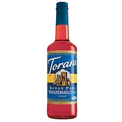 Torani Sugar Free Watermelon Syrup 750ML (Pack of 12)