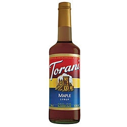 Torani Maple Syrup 750ML (Pack of 12)
