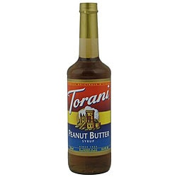 Torani Peanut Butter Syrup 750ML (Pack of 12)