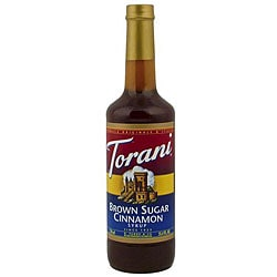 Torani Brown Sugar Cinnamon Syrup 750ML (Pack of 12)