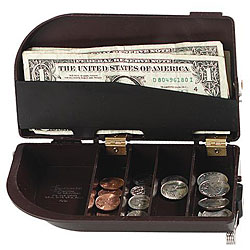 Universal Black Cash Caddy