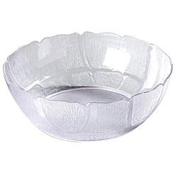 Carlisle Foodservice 12-in Clear Petal Bowl