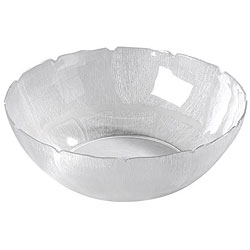 Carlisle Foodservice 18-in Clear Petal Bowl