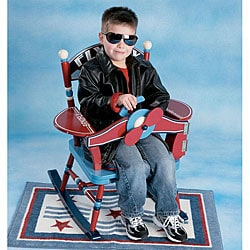 Fly Boy Airplane Rocking Chair